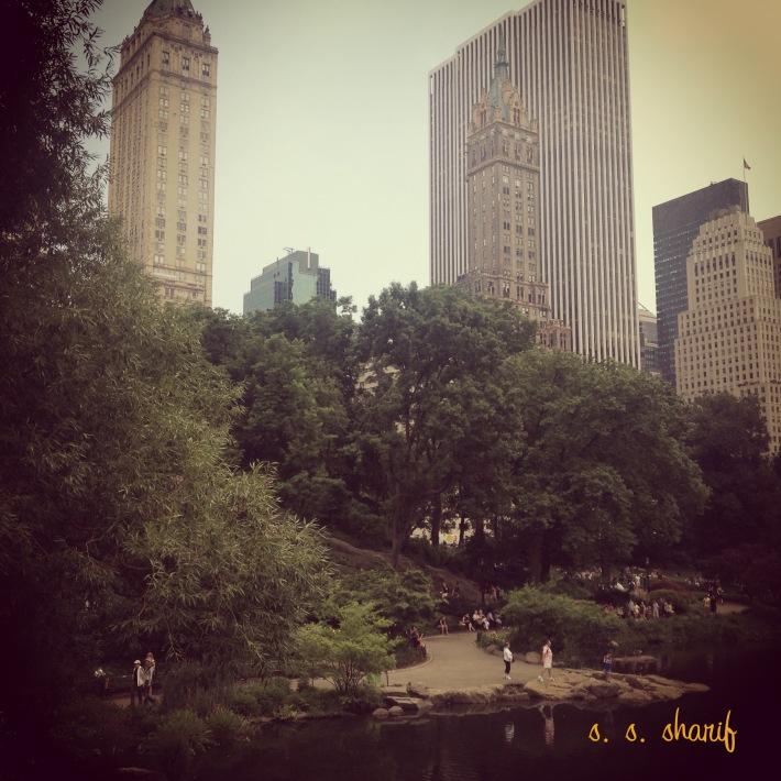 Central Park - thesunhascomeup.wordpress.com