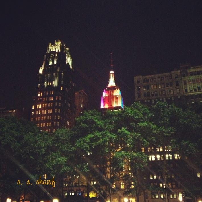 Bryant Park & Empire State Building - thesunhascomeup.wordpress.com